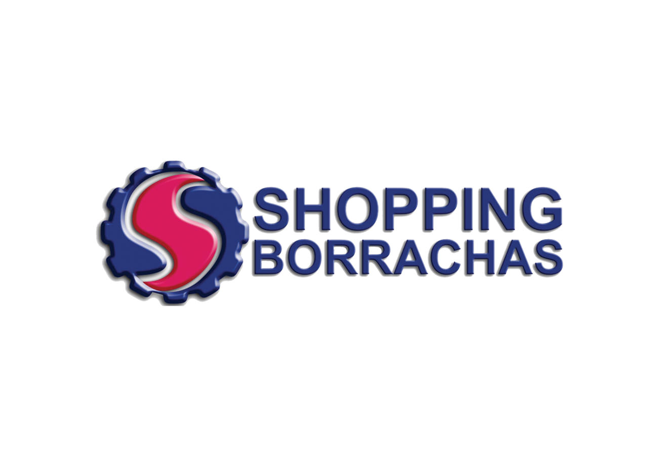 Logotipo Antigo Shopping Borrachas