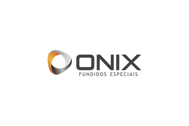 Logotipo Onix Fundidos