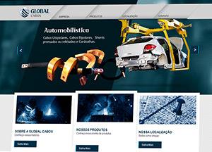Criação de Site Global Cabos
