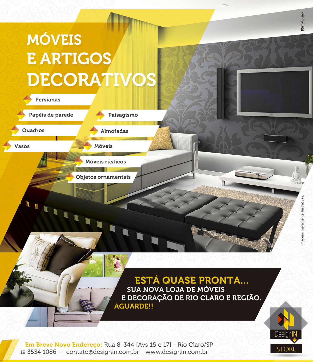 Anúncio DesignIN STORE Jornal