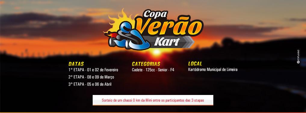 Anuncio Copa Verão de Kart