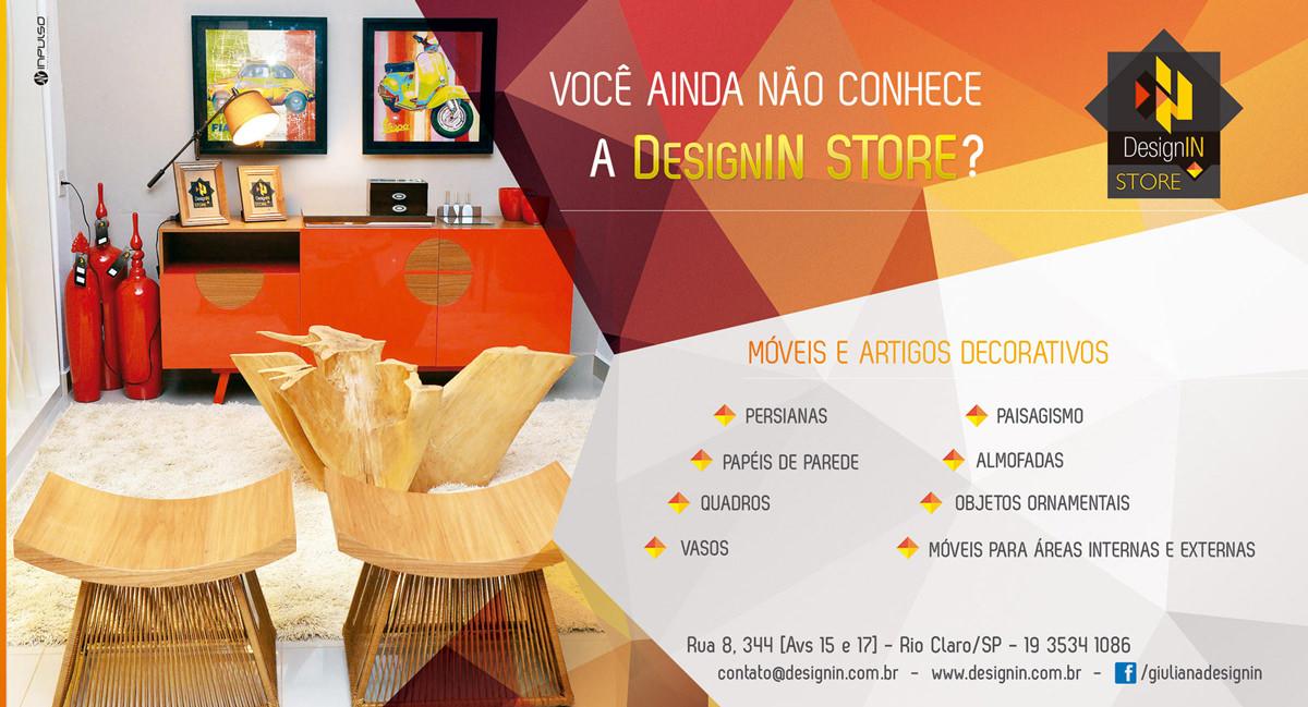 Anúncio DesignIN - Guia Construir Jornal