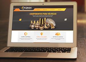 Criação de Site: Onix Fundidos