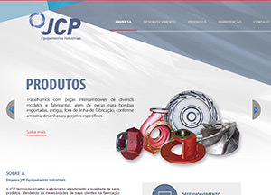 Website JCP Equipamentos Industriais