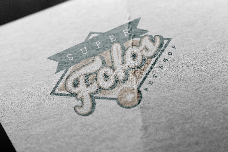 Logotipo Super Fofos Pet Shop