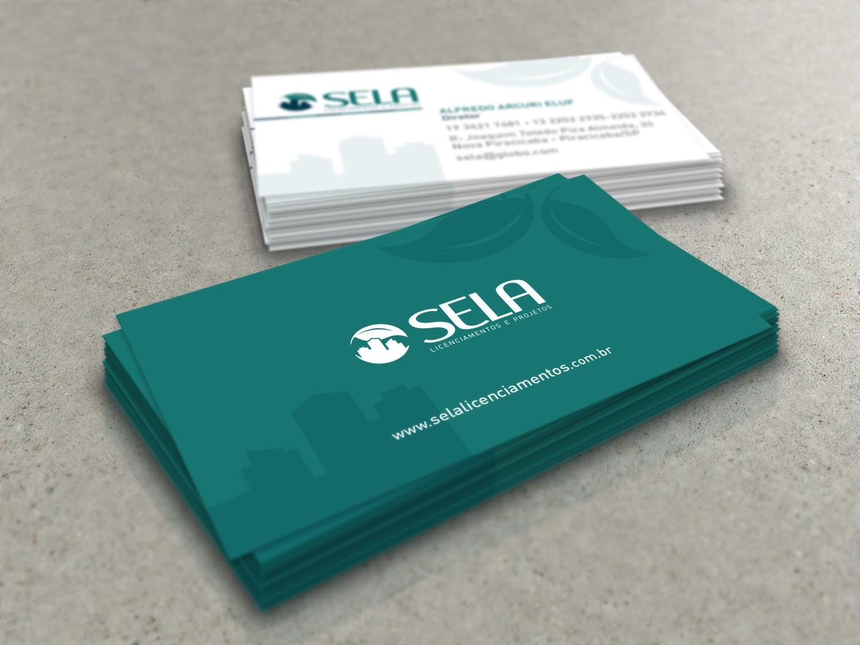 cartão de visita sela licenciamentos