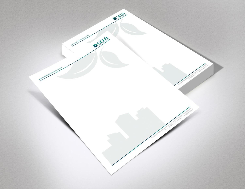 identidade visual: papel timbrado