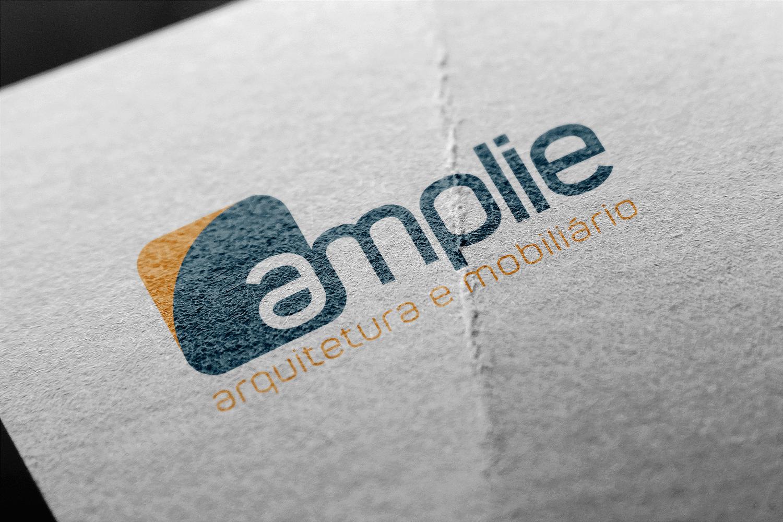 Criação de Logotipo Amplie Arquitetura e Mobiliário