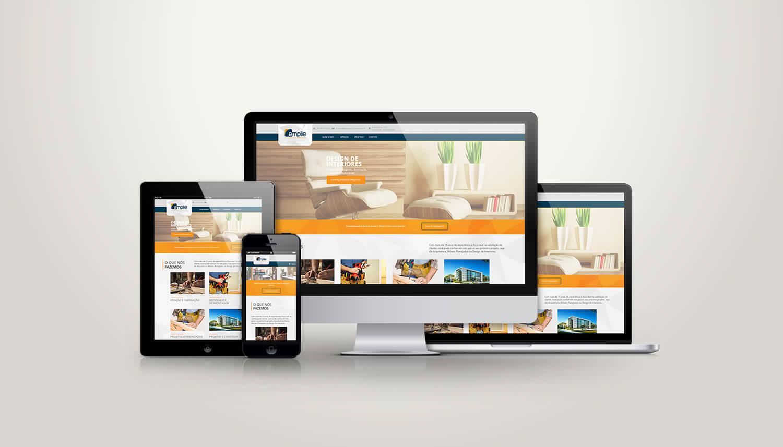 Site Responsivo Amplie Arquitetura e Mobiliário