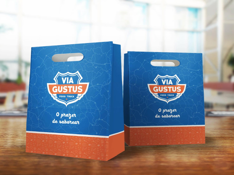 embalagem sacola food truck via gustus