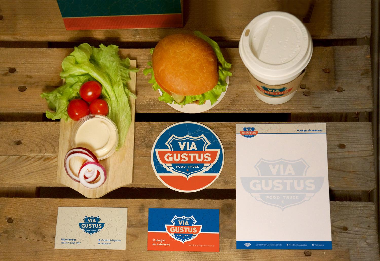 identidade visual food truck