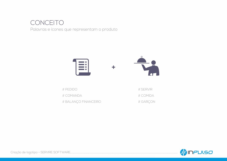 Conceito Logotipo Servire Software