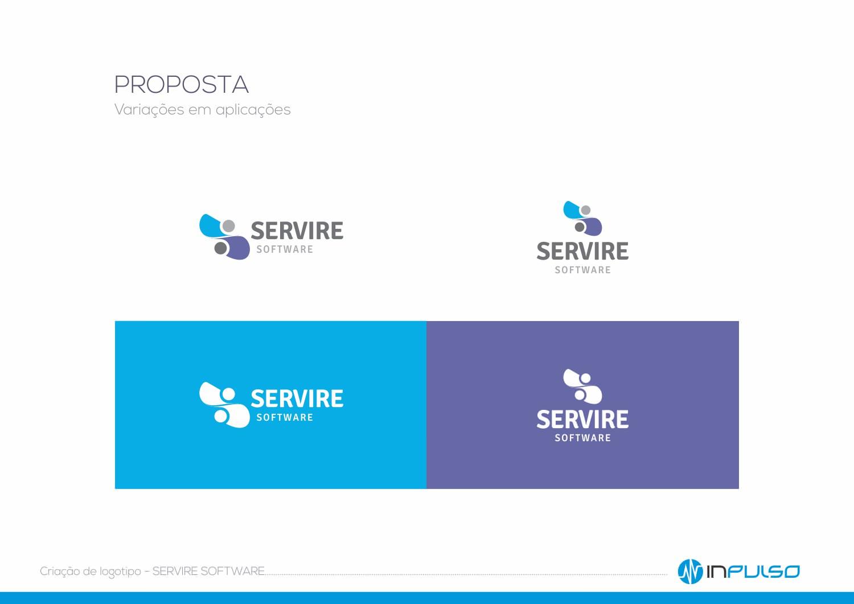 Variações Logotipo Servire Software
