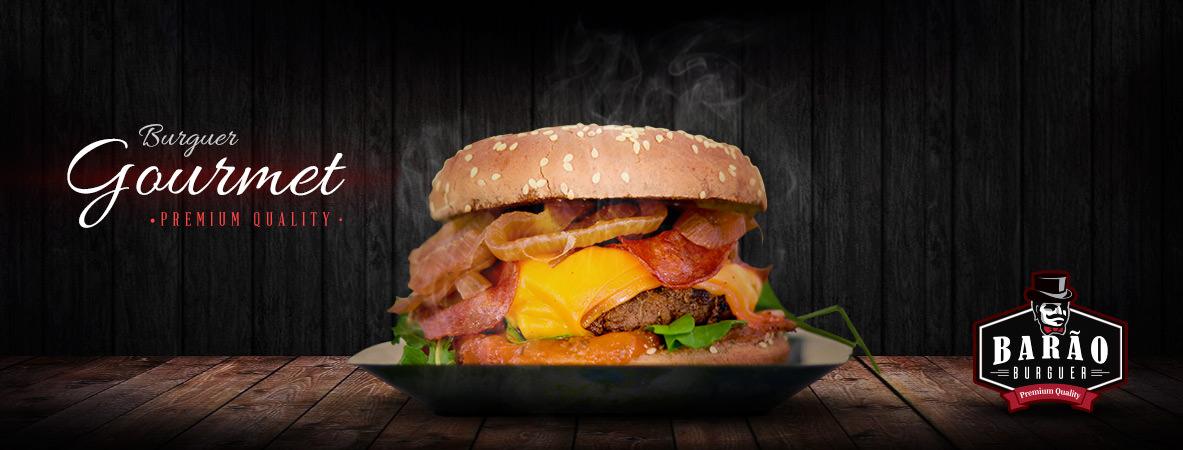 capa para facebook food truck barão burguer