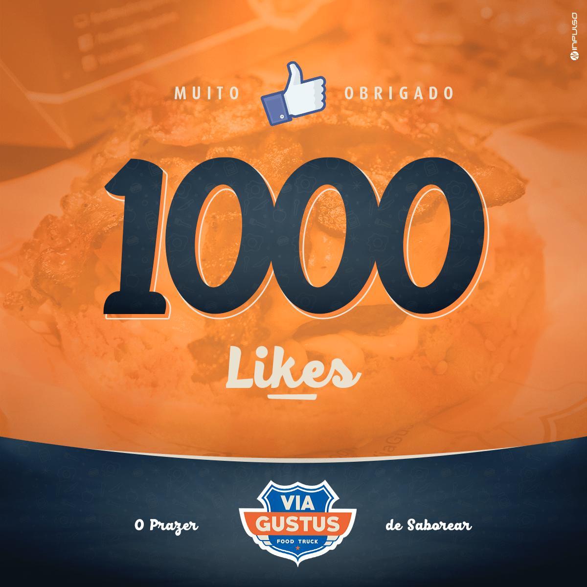 facebook 1000 likes food truck via gustus