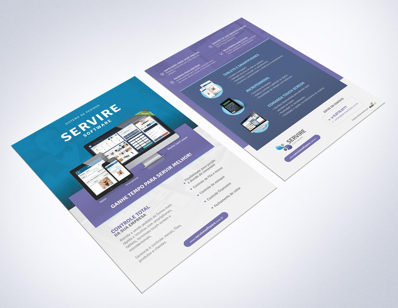 folder Servire Software limeira