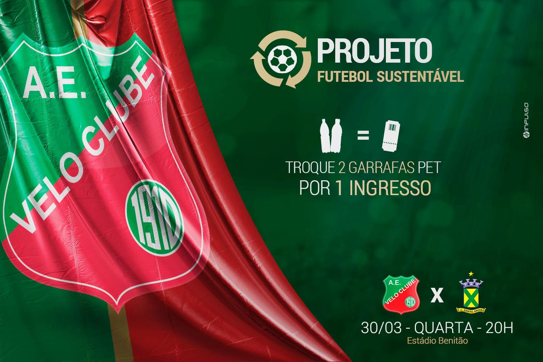 projeto futebol sustentável velo clube