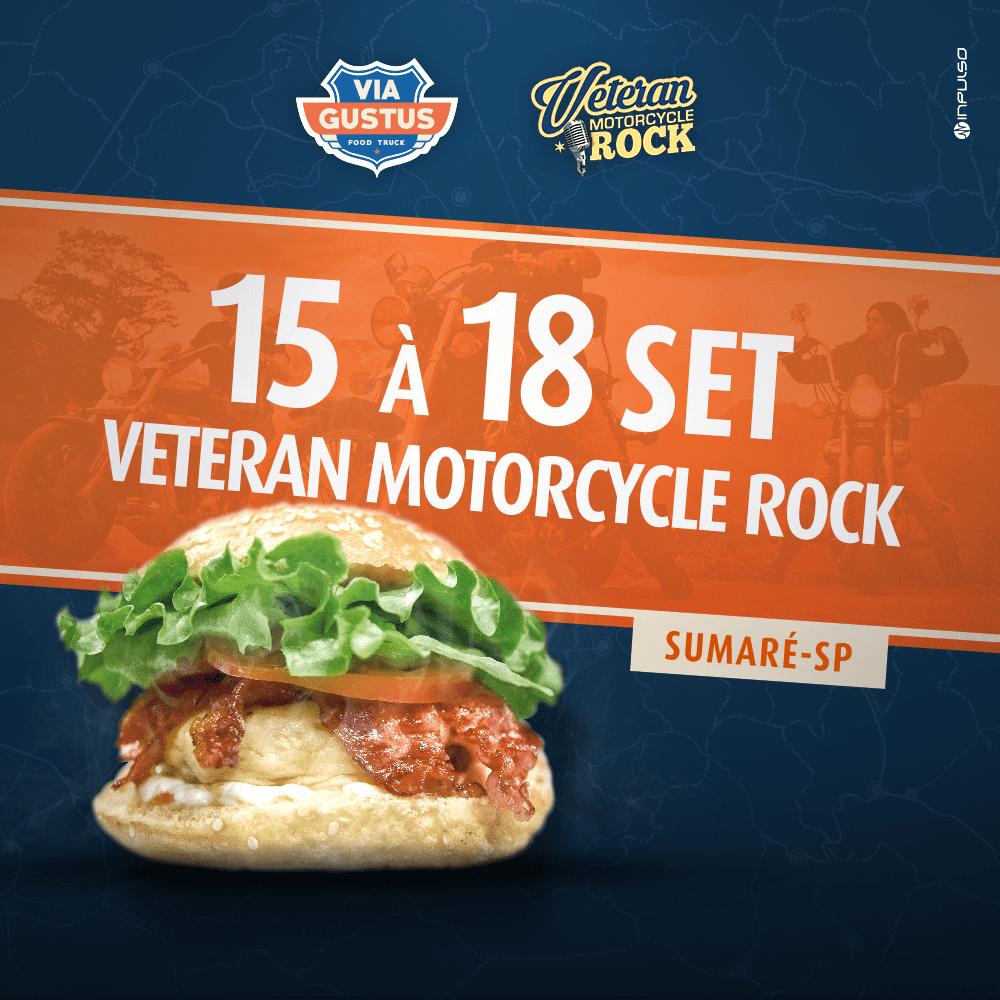 veteran motorcycle rock sumare