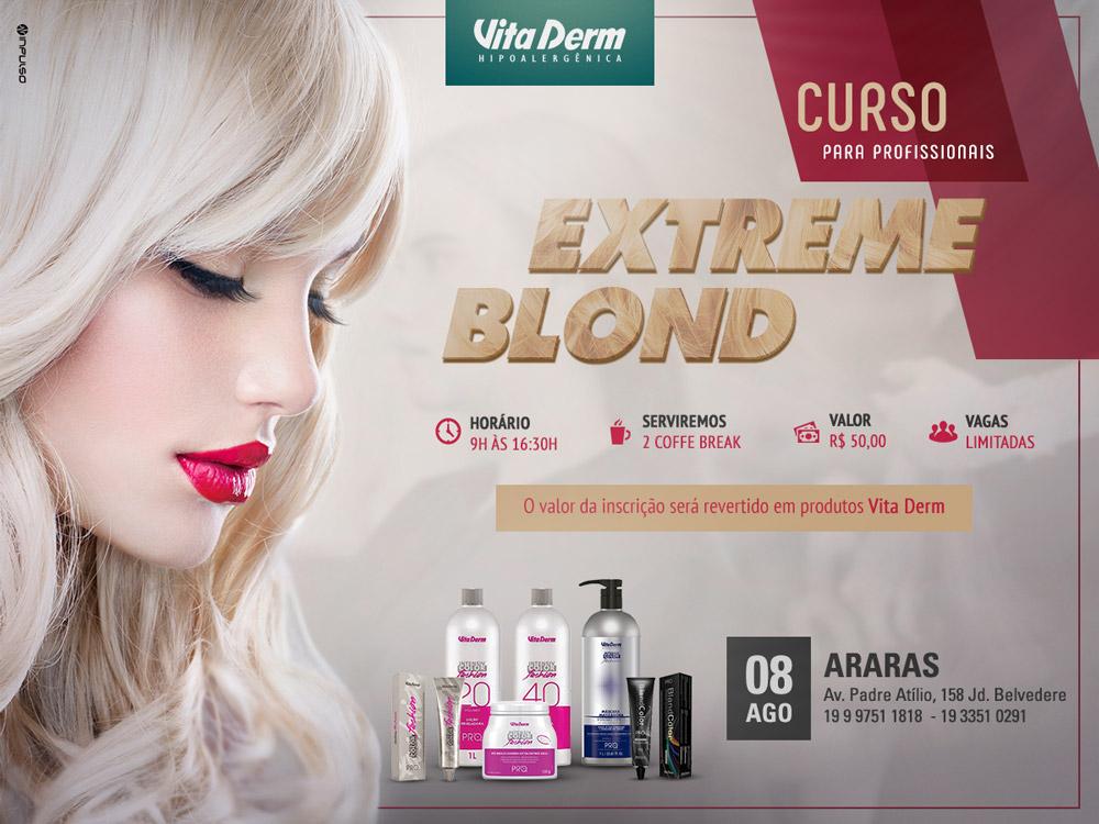 Vita Derm curso extreme blonde