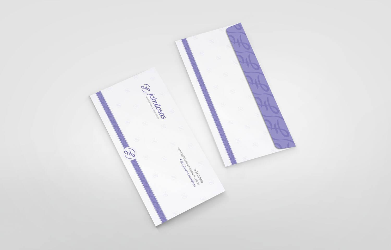 Envelope Carta Fabulosas Cosméticos