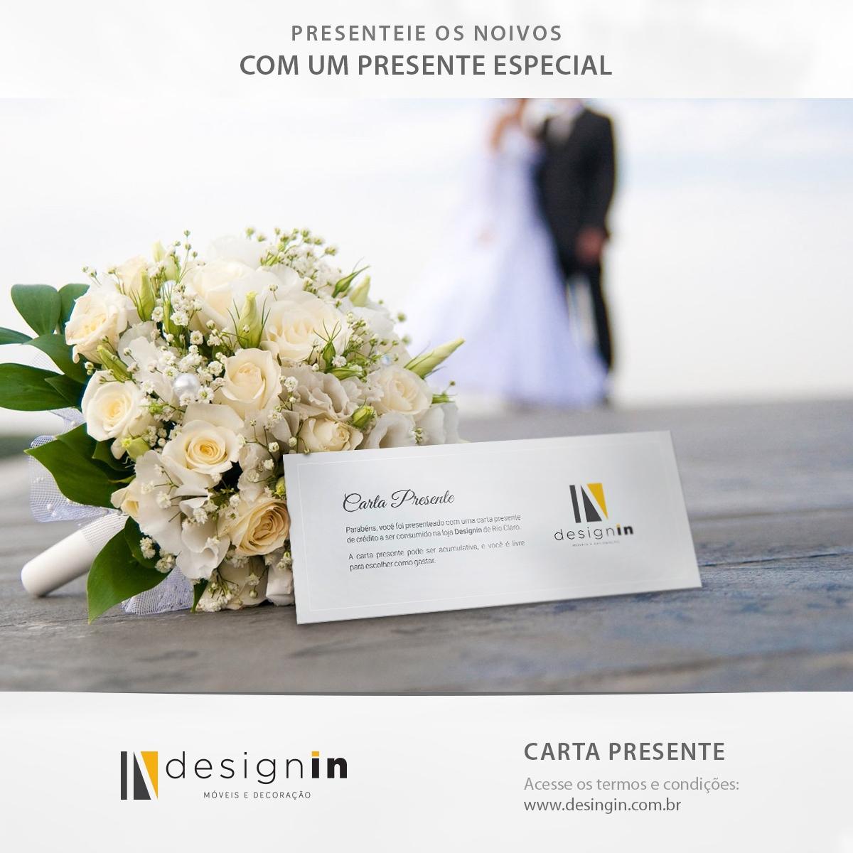 Carta Presente Noivas Designin Store