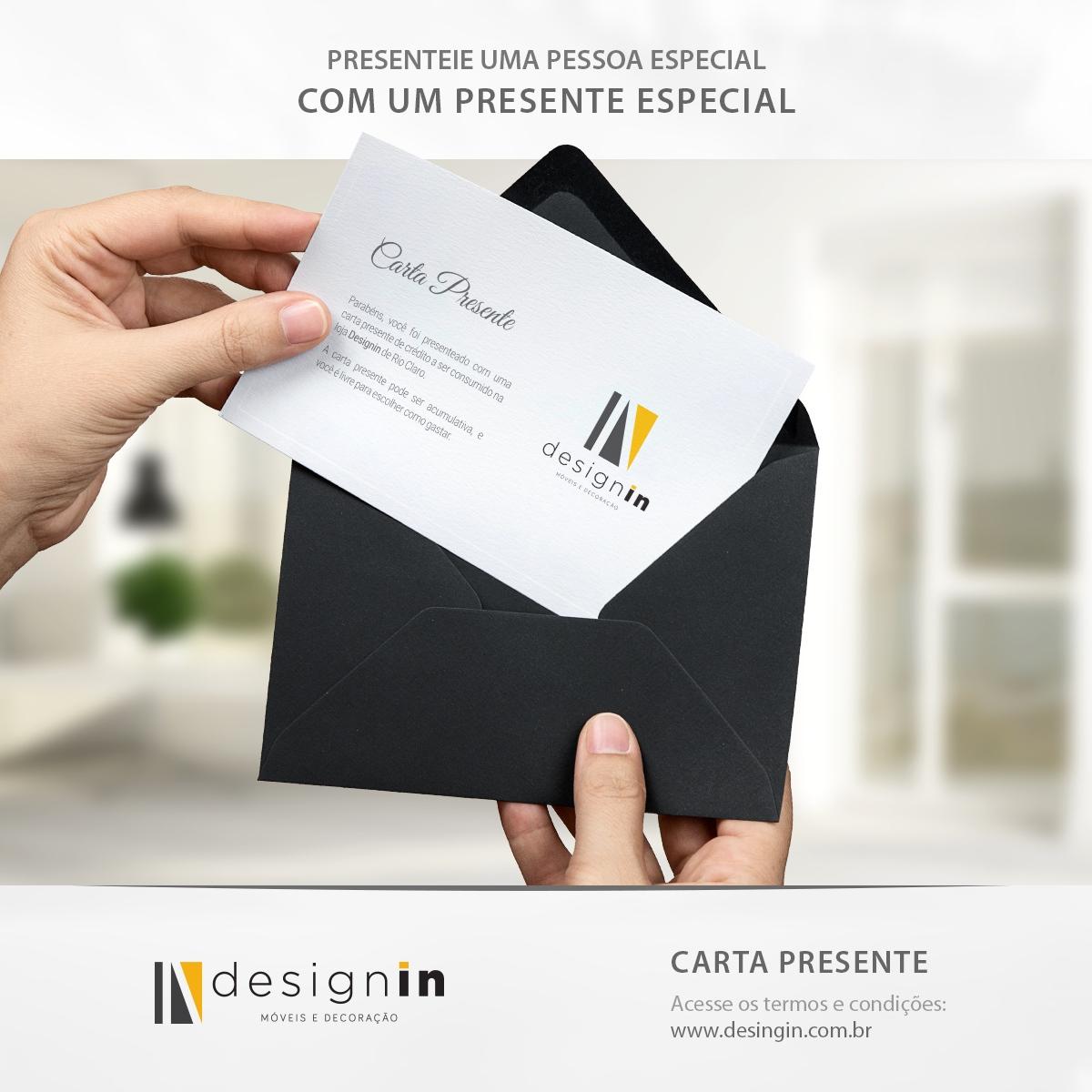Divulgação Carta Presente Designin Store