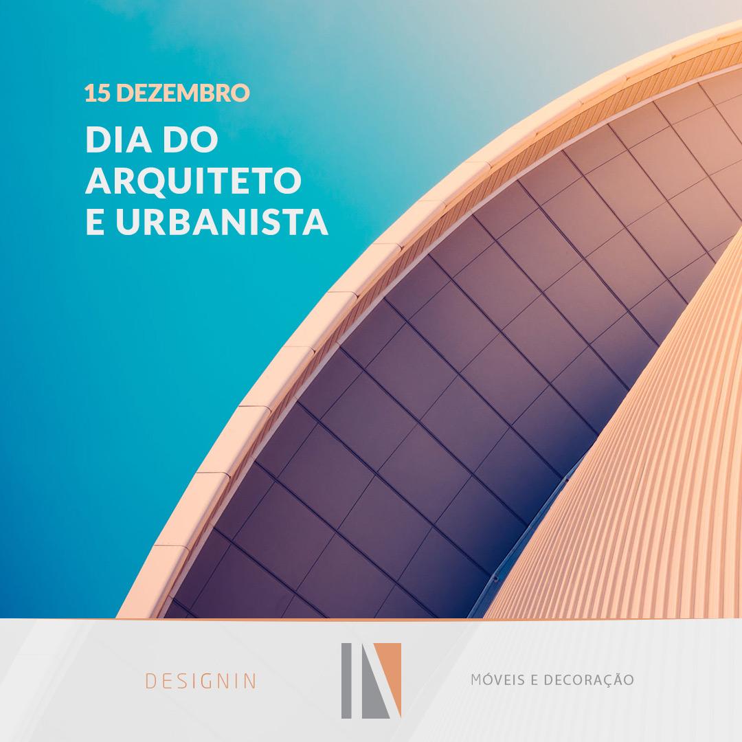 Dia do Arquiteto e Urbanista Designin Store