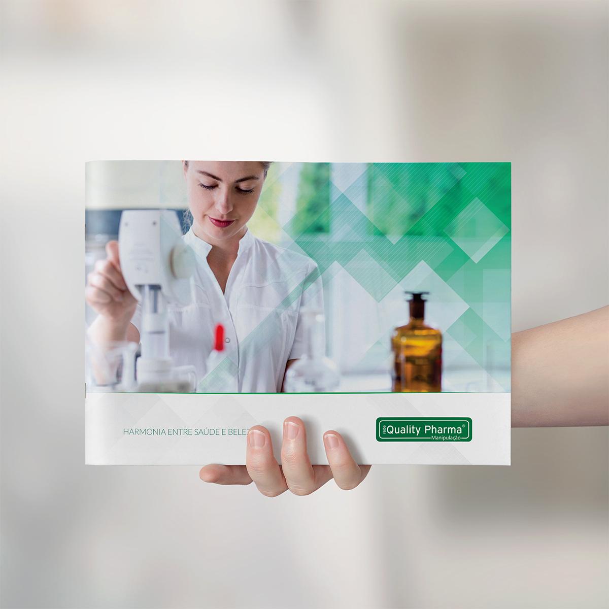 Criação Revista Farmácia Quality Pharma